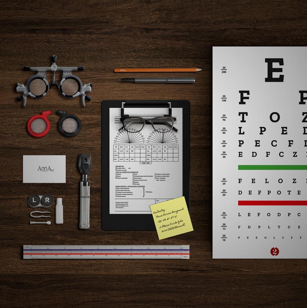 Renouvellement Ordonnance lunette et lentille